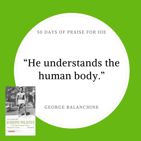 George Balanchine_50 Days of Praise for Joe