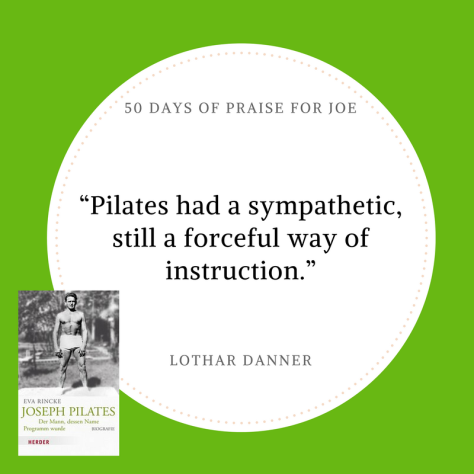 Lothar Danner_50 Days of Praise for Joe