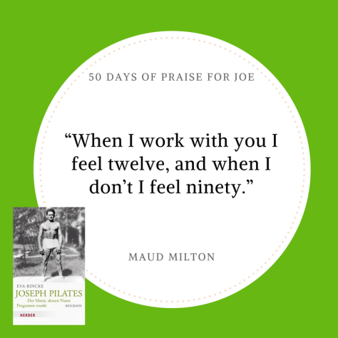 Maud Milton_50 Days of Praise for Joe