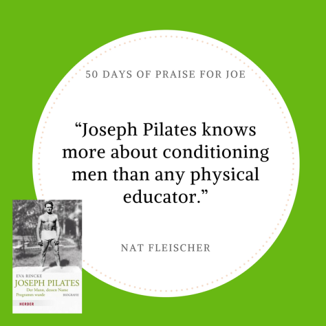 Nat Fleischer_50 Days of Praise for Joe
