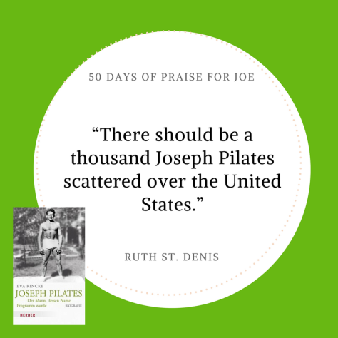 Ruth St Denis_50 Days of Praise for Joe